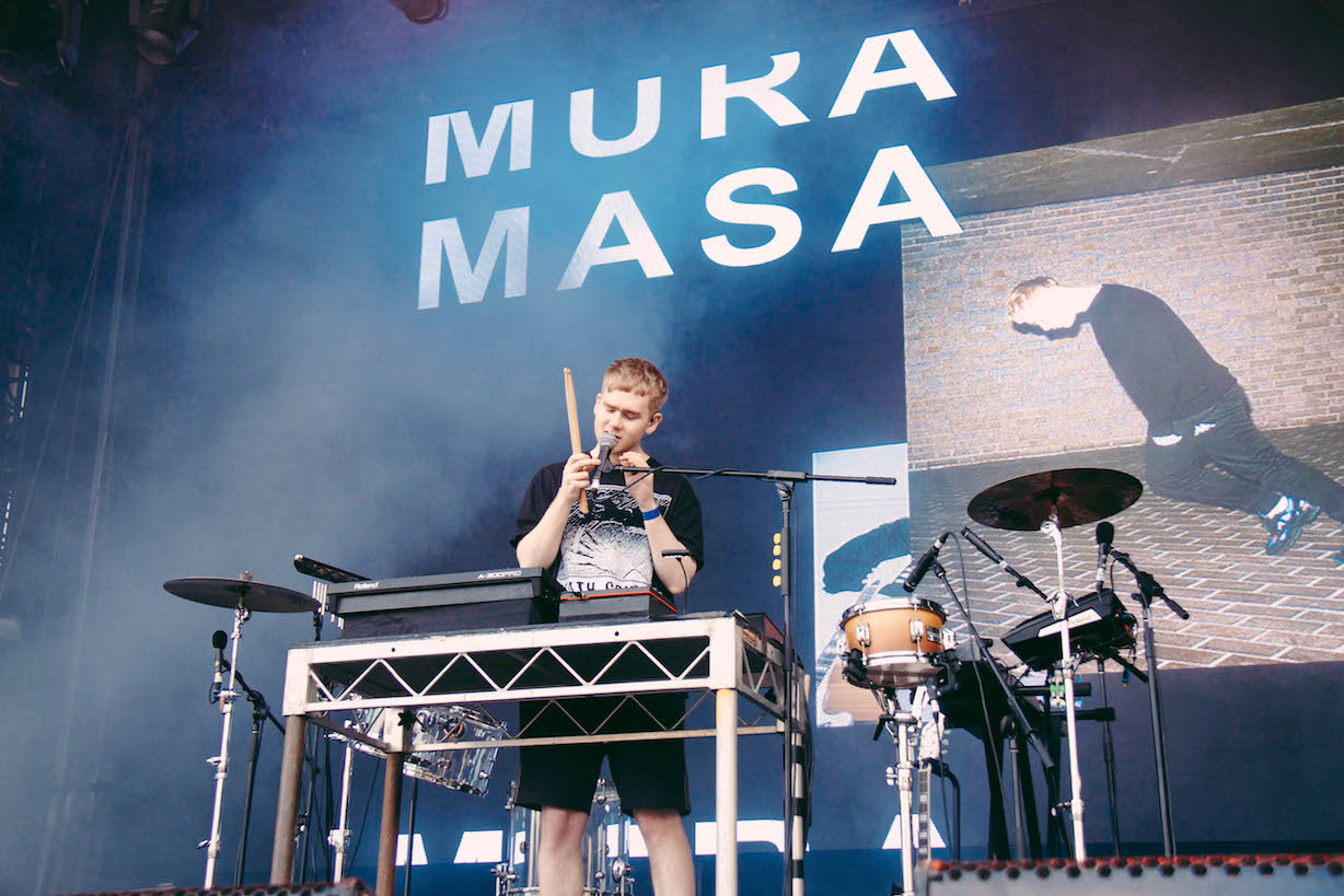HE CUT - REDDS - FIELD DAY 2018 - MURA MASA