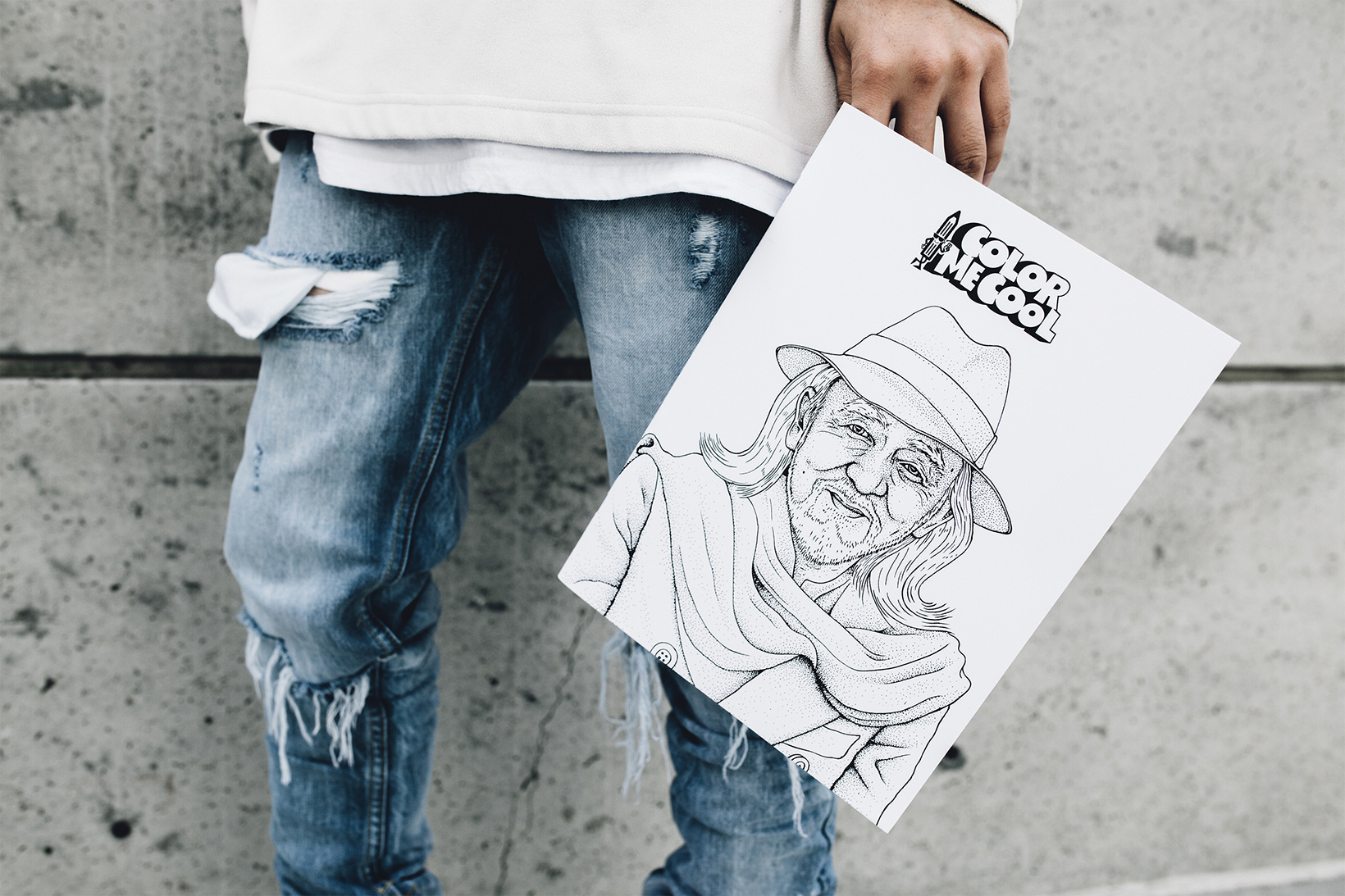 The First Adult Colouring Book Inspired By Todays Culture