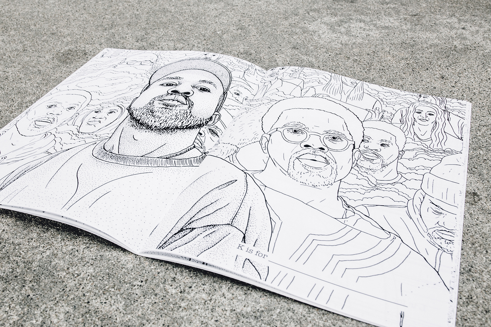 The First Adult Colouring Book Inspired by Today's Culture