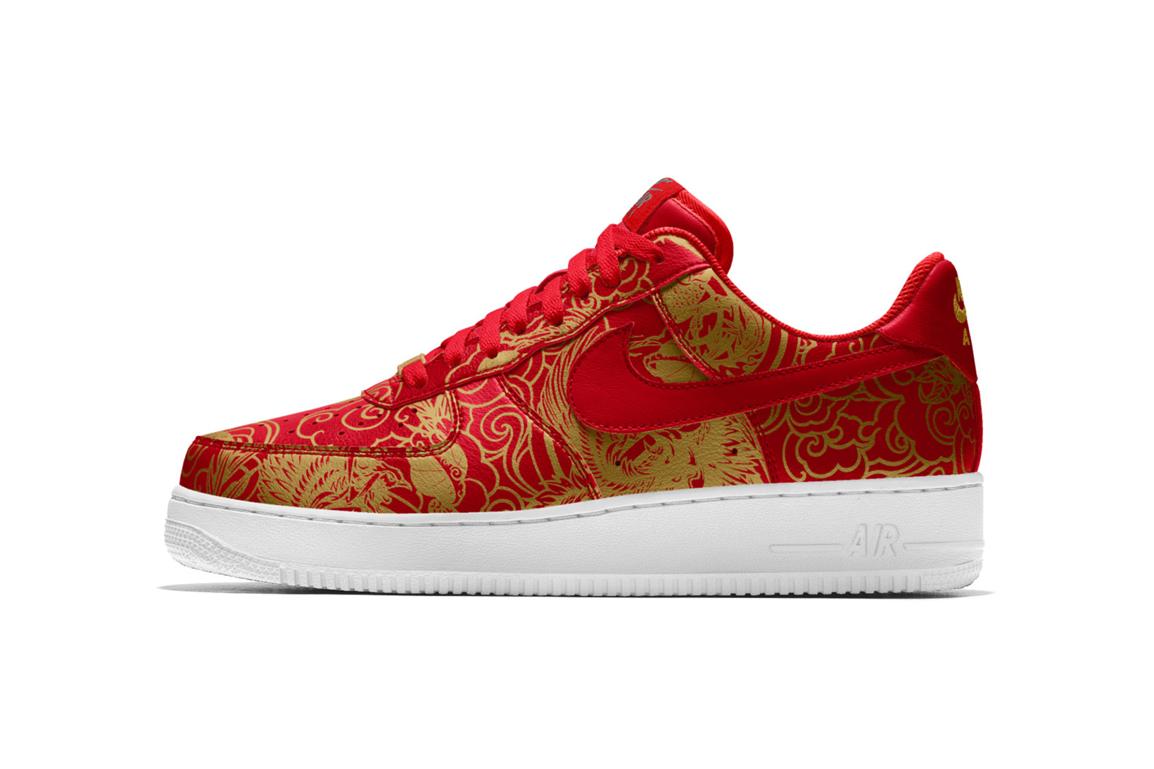 NikeID Brings in Chinese New Year with Custom Air Force 1