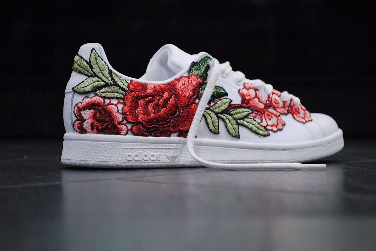 FRE Customs are Releasing Adidas Stan Smith  Flowerbombs  - The Cut 82b0d28d4