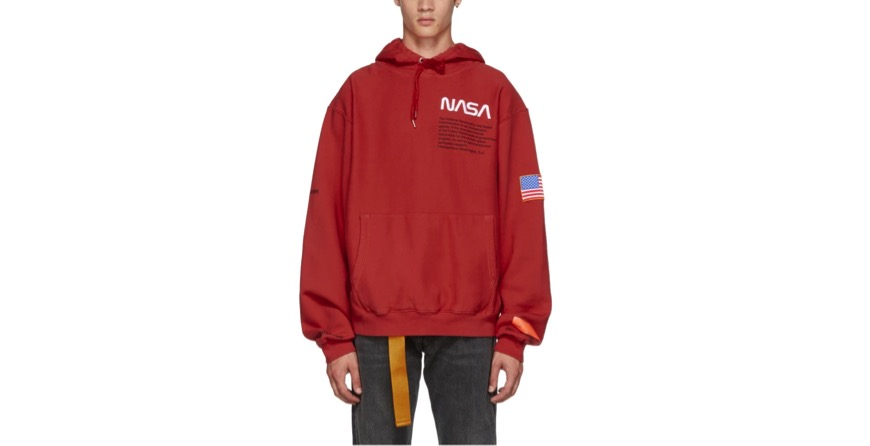 Red NASA Edition Hoodie