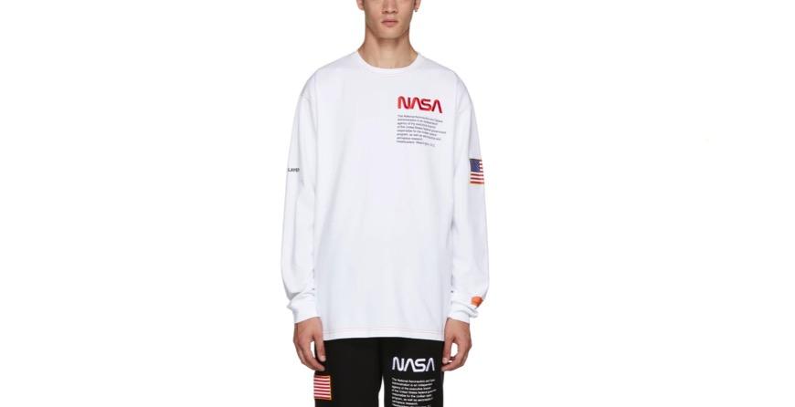 White NASA Edition T-Shirt