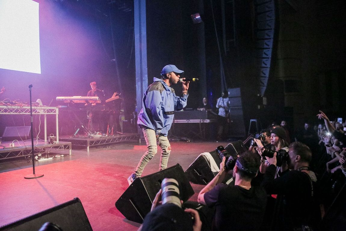 THE CUT | 6LACK AND THEY. @ SYDNEY ENMORE THEATRE | SHOT BY REDDS FX