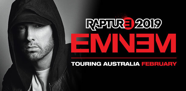 THE CUT | EMINEM RETURNS TO AUSTRALIA WITH RAPTURE STADIUM TOUR