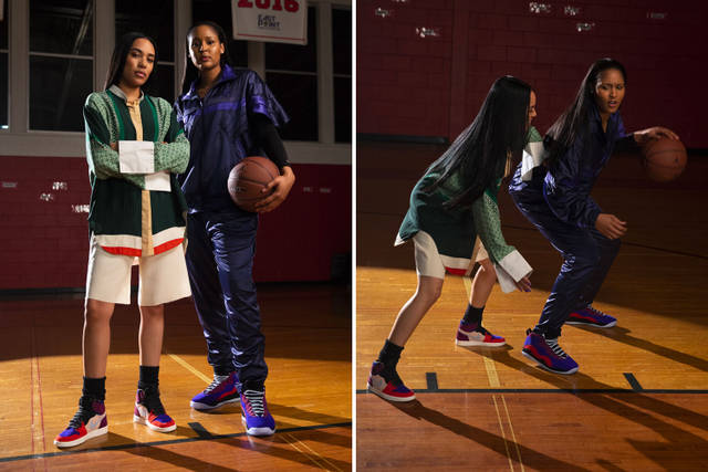 THE CUT | ALEAI MAY MAYA MOORE JORDAN COLLAB
