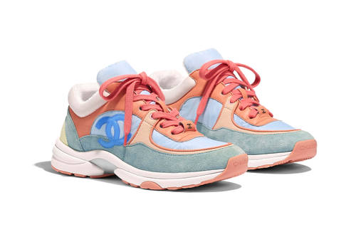 THE CUT | CANDY COLOURED CHANEL SNEAKERS